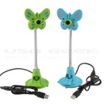 Webcam USB papillon