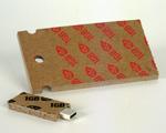 Clé USB en carton
