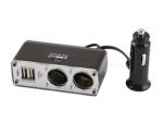 Chargeur appareil USB et allume cigarette
