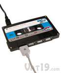 HUB USB cassette audio