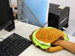 Hamburger usb réchauffe main