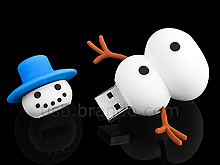 Clé usb bonhomme de neige