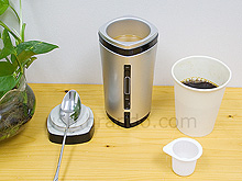 Chauffe tasse usb avec mélangeur et batterie