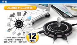 HUB usb 12 ports