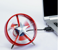 Ventilateur USB Captain America