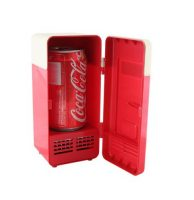 Mini frigo USB rouge